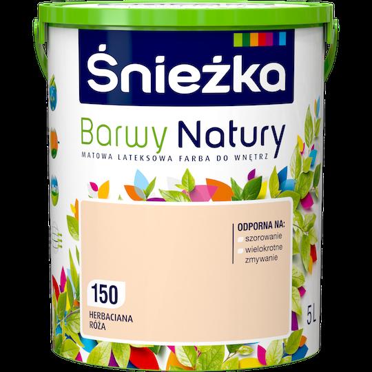Краска латексная Sniezka Barwy Natury 150T Чайная роза 5 л