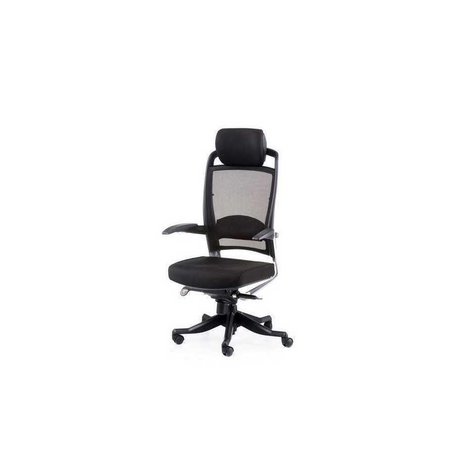 Кресло офисное Fulkrum black fabric, black mеsh Special4You