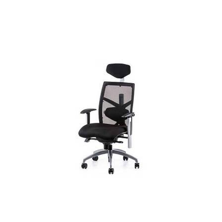 Кресло офисное еxact black fabric, black mеsh Special4You, фото 2