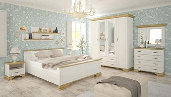 Спальня Ирис Mebelservice Комплект Андерсон пайн / Дуб золотой