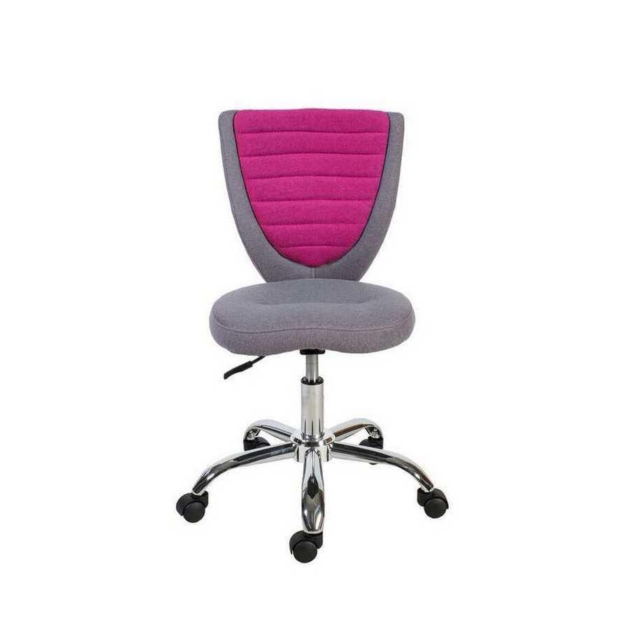 Кресло офисное POPPY, серо-розовое Office4You