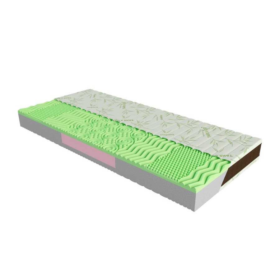 Ортопедический матрас Take&Go Bamboo NEO GREEN 90х200 ЕММ