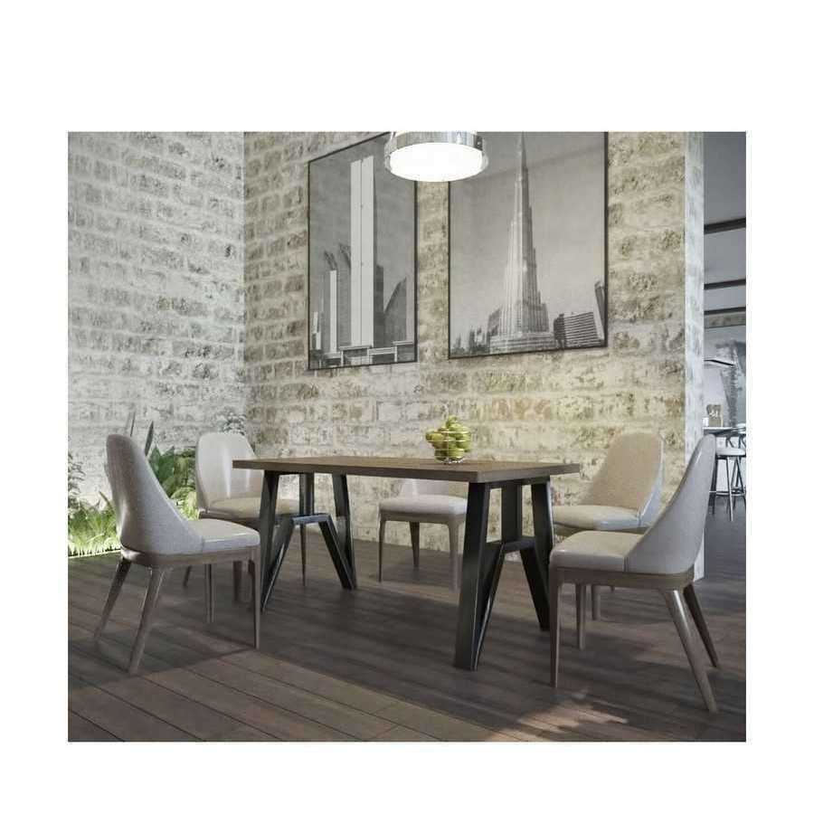 Стол обеденный Прайм 120 см. Металл-Дизайн