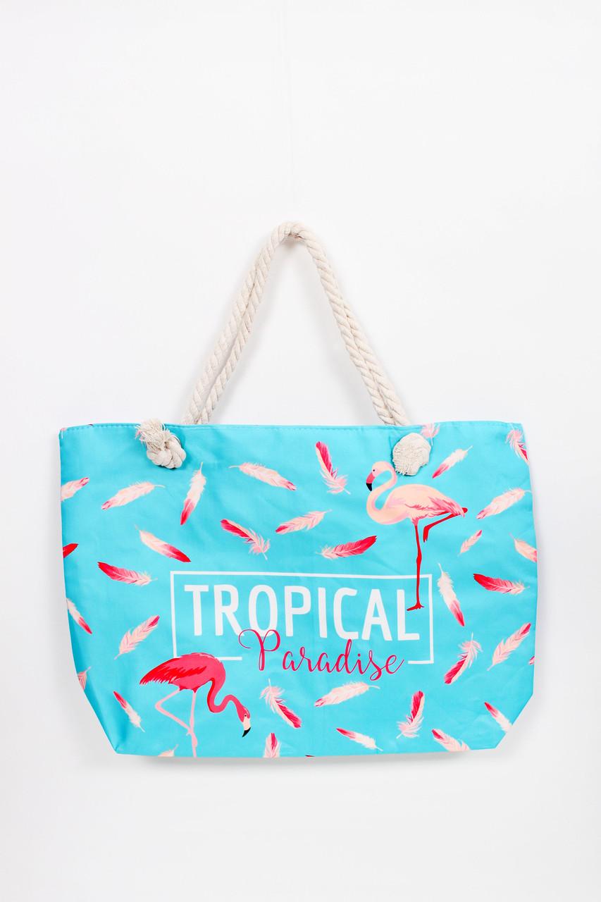 Сумка пляжная Тропики