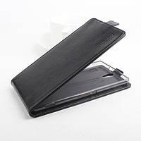 Чохол фліп для Sony Xperia C5 Ultra чорний, фото 1