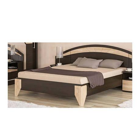 Кровать Аляска Венге Темный - Мебель Сервис, фото 2