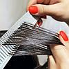 Расчёска для микро (вуального) мелирования VIEW KEEP серая, фото 2