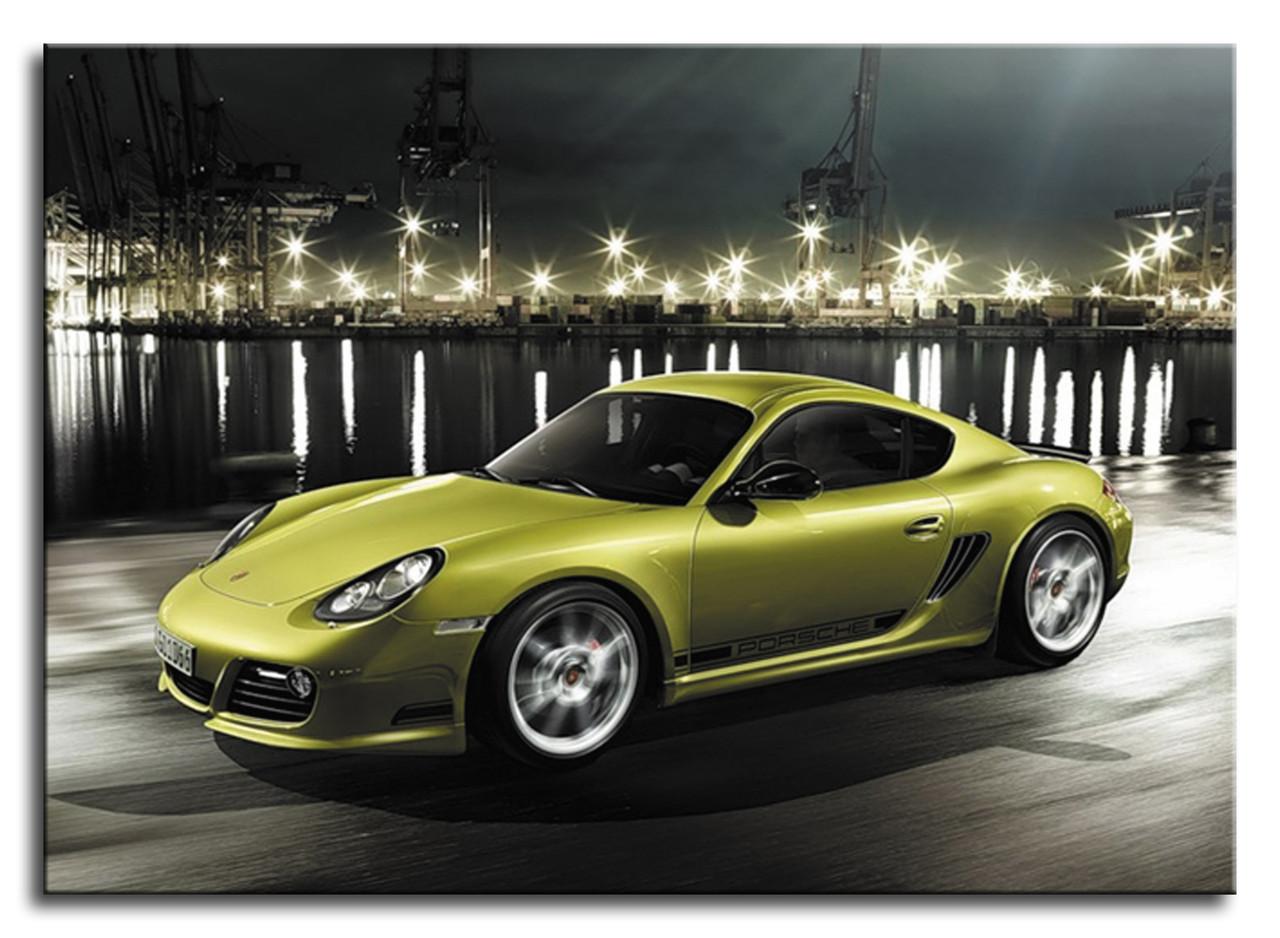"""Картина на холсте """"Porsche Cayman R"""""""