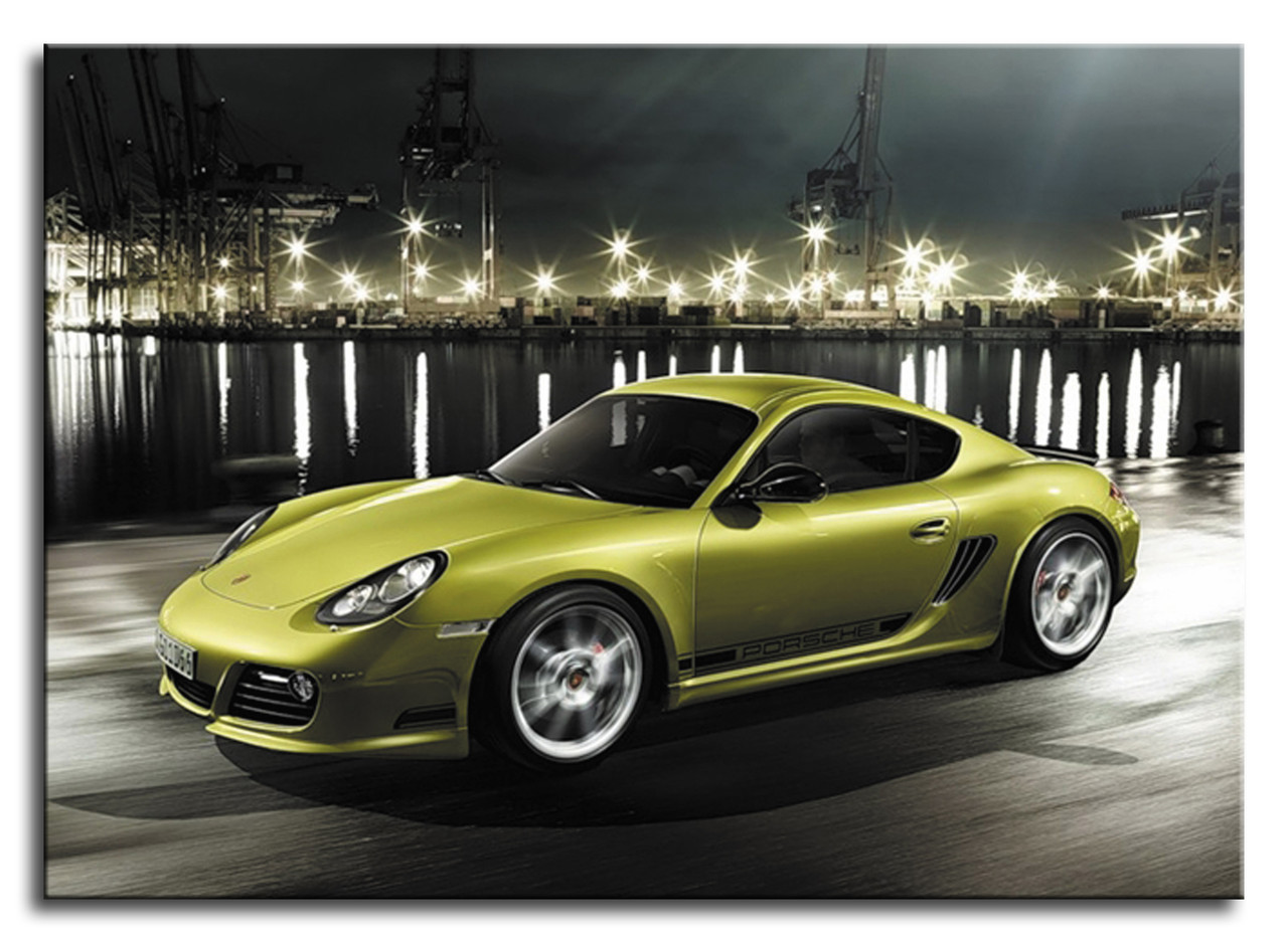 "Картина на полотні ""Porsche Cayman R"""