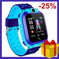 Детские Умные Смарт Часы Телефон c LBS Baby Smart Watch Q12 (S12) Original, водонепроницаемые с камерой