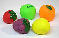 Брызгалки Фрукты 5 в 1 в кульке