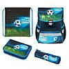 50025756 Ранец школьный укомплектованный Herlitz LOOP PLUS Soccer резиновая 3D-аппликация