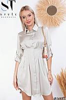 Женское летнее платье из шелка (42-58), фото 1