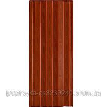 Двери гармошка Vinci Decor Фруктовое дерево  межкомнатные глухие