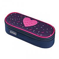 50026302 Пенал Herlitz Case Flap Tropical Heart, фото 1