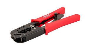 Клещи Mastertool для обжима компьютерных клемм штекеров RJ11, RJ12, RJ45 190 мм 75-2243