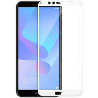 Защитное стекло T-PHOX Glass Screen (CP+ FG) For Huawei Y6 2018 Prime White, фото 1