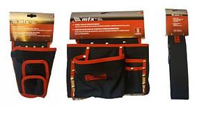 Підсумок 8 кишень+Кобура для шуруповерта з кишенею для біт і свердел MTX+Пояс до кишень для інструментів MTX