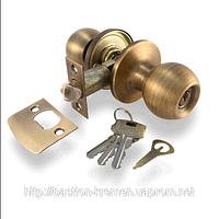 Дверная ручка-защелка (кноб), APECS, 6072-01-AN