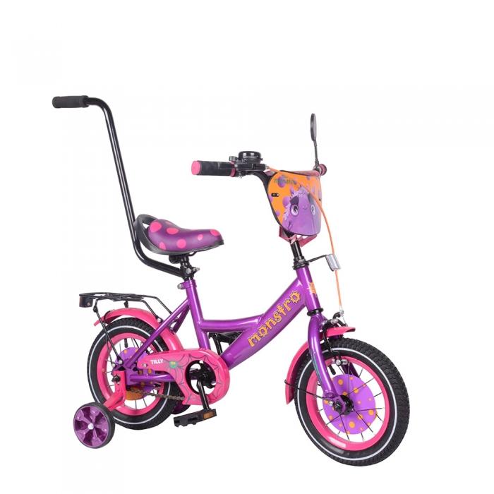 Велосипед детский двухколесный TILLY Monstro 12 T-212211 Purple