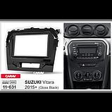 Suzuki Vitara Carav 11-631 рамка магнитолы на сузуки, фото 2