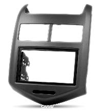 Chevrolet Aveo, Sonic Carav 11-181 рамка магнитолы на шевролет