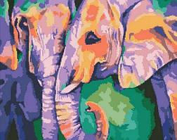"""Алмазная мозаика Идейка """"Индийские краски"""" 40*50см AM6126"""