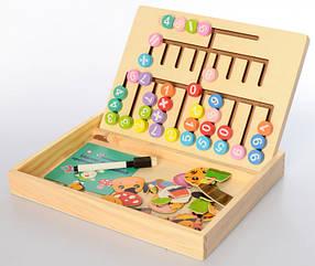 Дерев'яна іграшка Набір першокласника MD2381