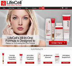 Универсальный антивозрастной крем LifeCell South Beach Skincare All In One Anti-Aging Treatment 75 ml, фото 3