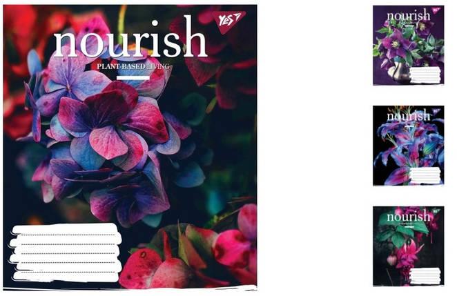 Тетрадь для записей А5/60 клетка YES NOURISH, 10шт/упак., 764168, фото 2