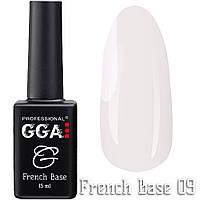 French Base GGA Professional № 9, 15мл