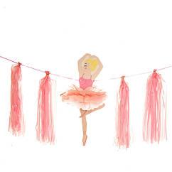 Гирлянда-растяжка  Балерина