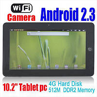 "Super Pad  FlyTouch3 10.2""  WiFi, GPS, Android 2.3, 8GB, фото 1"