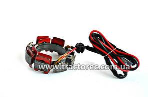 Статор генератора (вентилятора) мотоблока, мототрактора из двигателями R175, R180, R190, R195
