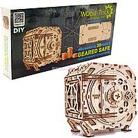 Деревянный конструктор Wood Trick 3d пазл механический сейф, 259 дет (4820195191019)