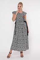 Платье Афродита зебра