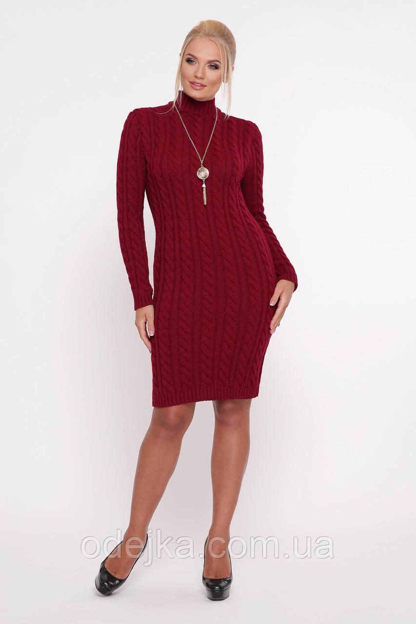 Сукня Коси бордо