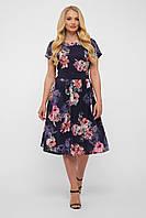 Платье летнее Лорен синее