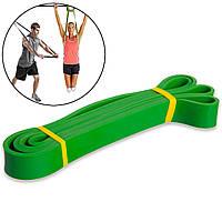 Эспандер ленточный Power Bands M 16-39 кг 2080х29х4,5 мм, резинка для фитнеса