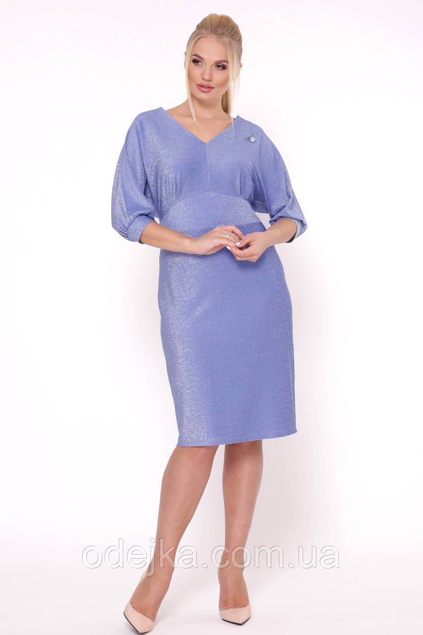 Сукня Афіна блакитна фіалка