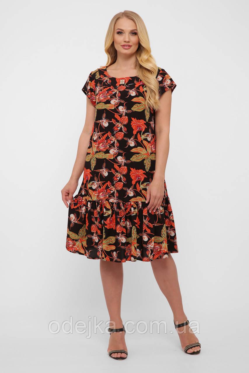 Платье женское Яна черное