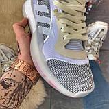 Мужские зимние кроссовки Adidas Marquee Boost Grey, мужские кроссовки адидас марки буст (41 размер в наличии), фото 6