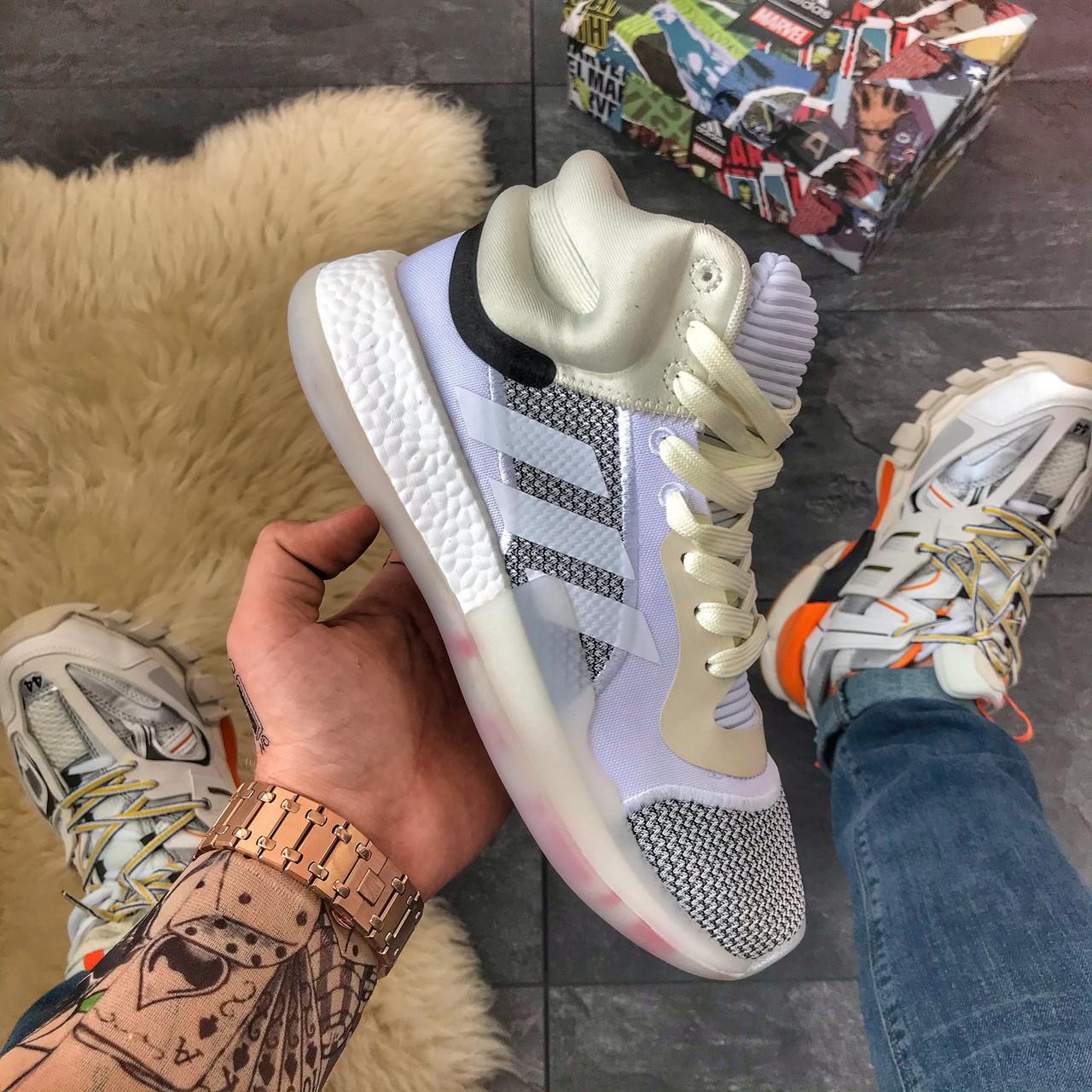 Мужские зимние кроссовки Adidas Marquee Boost Grey, мужские кроссовки адидас марки буст (41 размер в наличии)