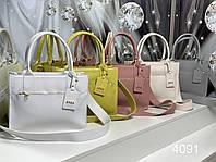 Женская сумка Zara в ярких расцветках из качественного кожзама Код 4091