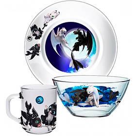 Набор посуды ОСЗ Disney Как приручить Дракона 18с2048