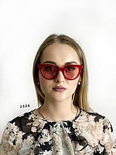 Червоні окуляри сонцезахисні