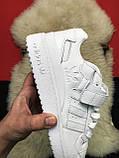 Мужские кроссовки Adidas Forum Mid Full White, мужские кроссовки адидас форум, фото 5