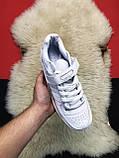 Мужские кроссовки Adidas Forum Mid Full White, мужские кроссовки адидас форум, фото 2