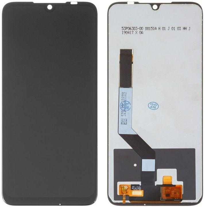 Дисплей (екран) для телефону Xiaomi Redmi Note 7, Note 7 Pro + Touchscreen (original) Black