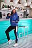 Спортивний костюм жіночий Adidas (3 кольори) РВ/-271 - Синій